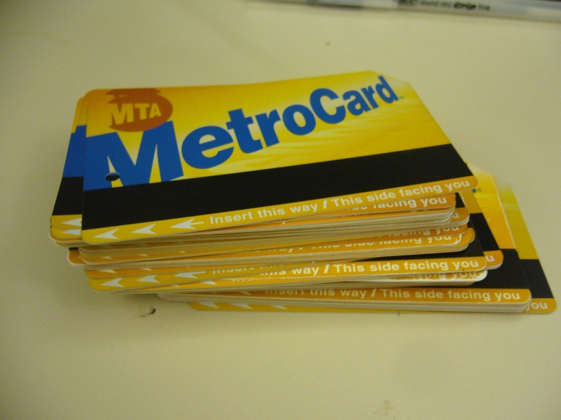Stack of Metrocards