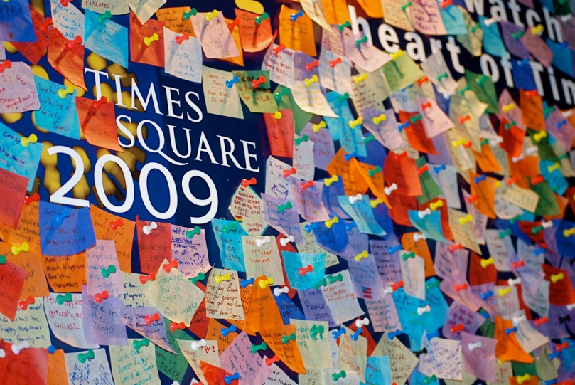 Times Square Wishing Wall