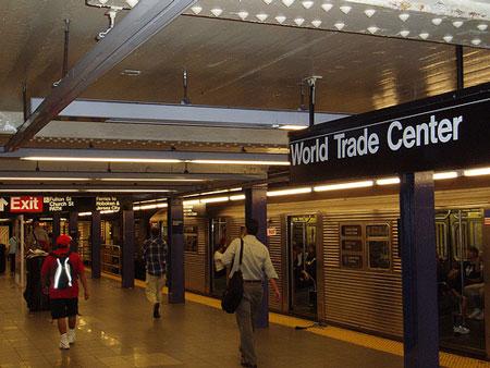 E Train at the World Train Center