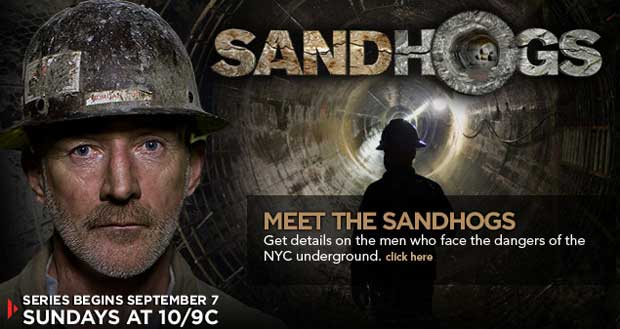 Sandhogs show on History Channel
